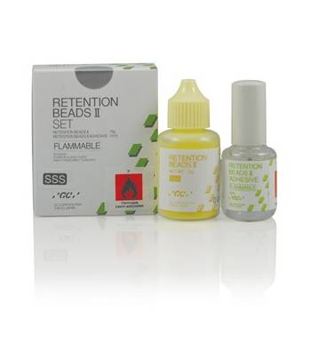 RETENTION BEADS II SET GC 15GR+10ML