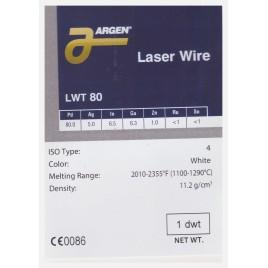 LWT 80 LASER SOLDER ARGEN GR 1.56