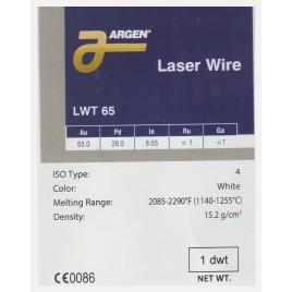 LWT 65 LASER SOLDER ARGEN GR 1.56